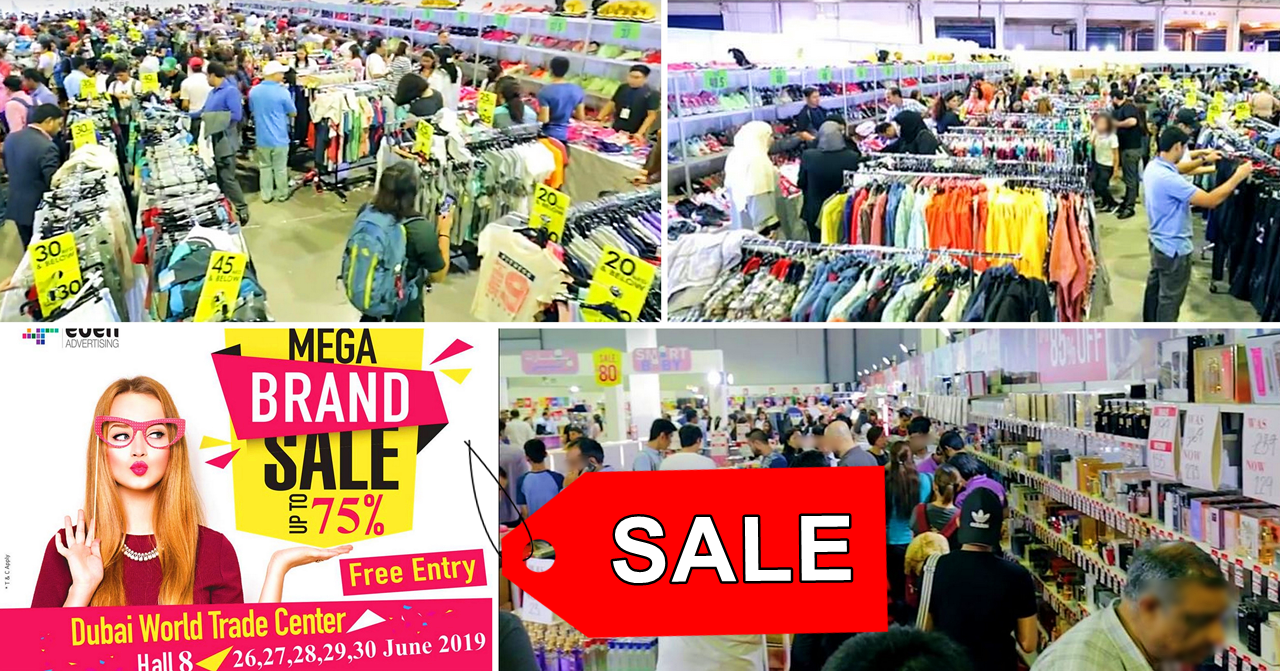 sale mega brand world trade centre