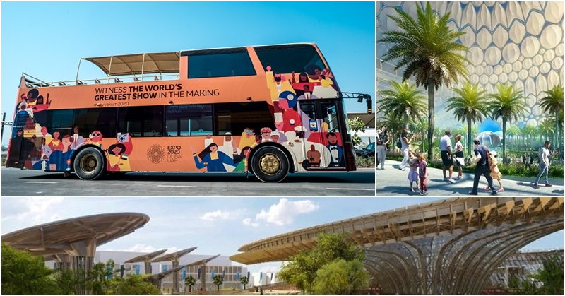 Catch FREE Bus Tours to Expo 2020 Dubai Site from July 20 to August