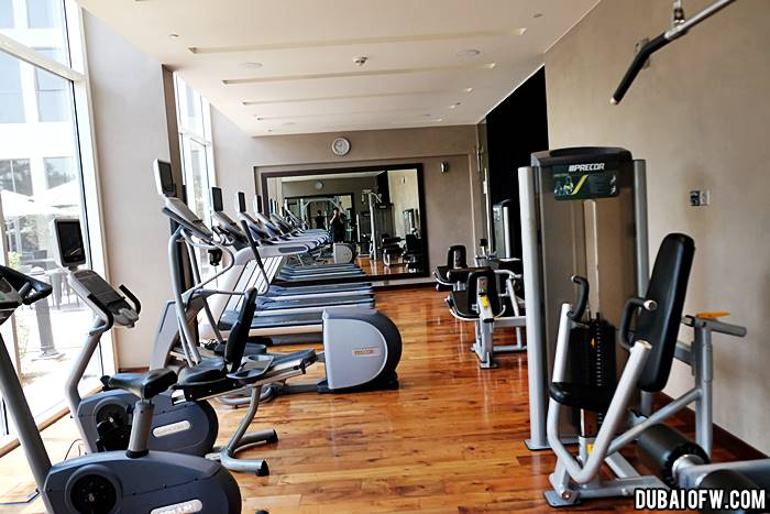 Centro Sharjah Hotel by Rotana gym