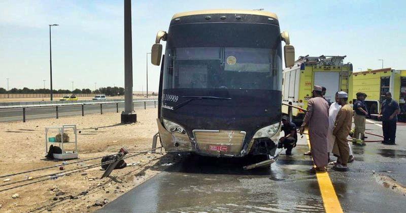 abu dhabi bus crash
