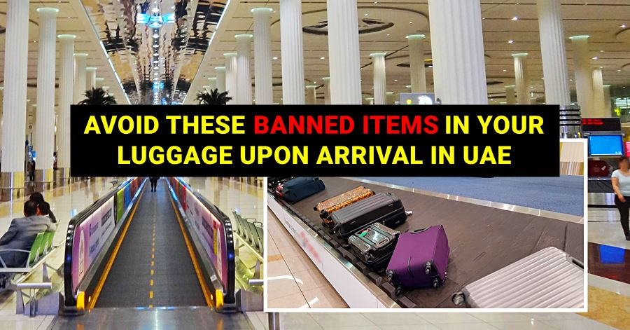 banned items in uae