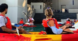 The Louvre in Abu Dhabi to Offer Night Kayaking this Summer