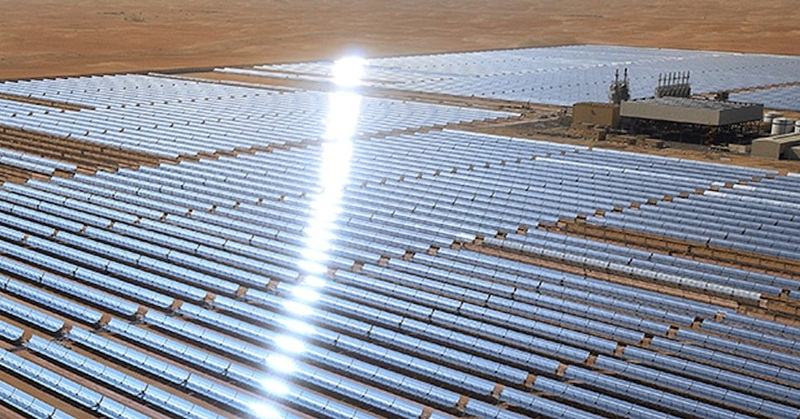 UN Chief Visits World's Largest Solar Project 'Noor Abu Dhabi'
