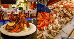 pergolas seafood night buffet