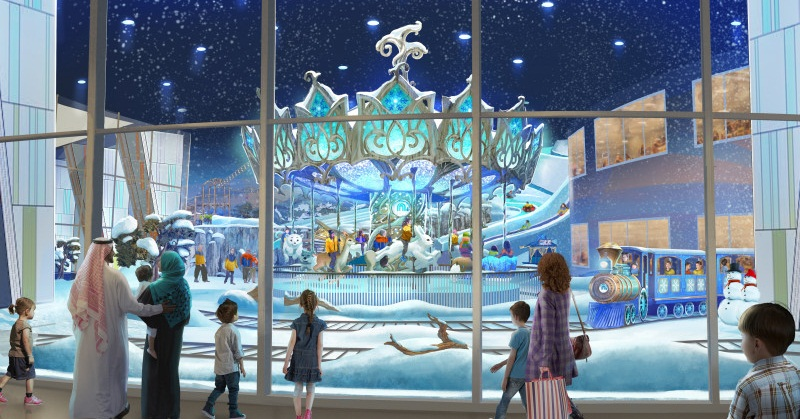 "Abu Dhabi, Soon to be Home to the ""World's Largest Snow Park"""