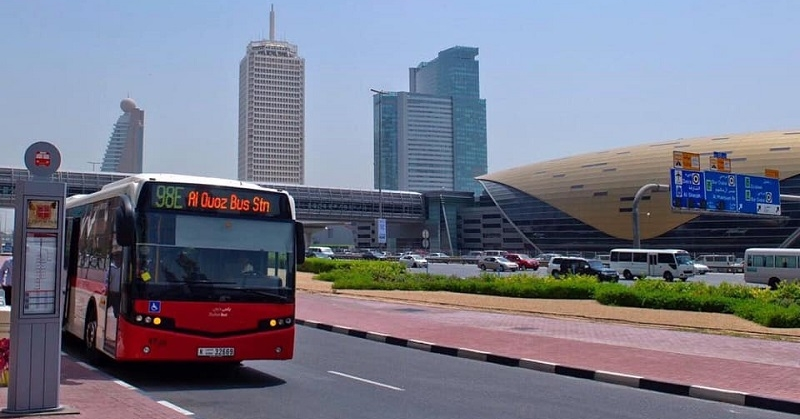 New Dubai-Abu Dhabi Bus Route Passes thru Airport