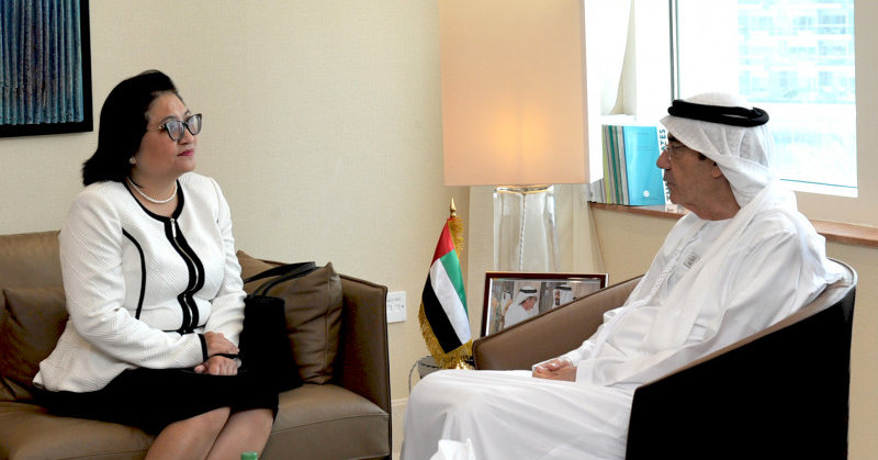 Philippine Ambassador Meets with UAE Minister of State