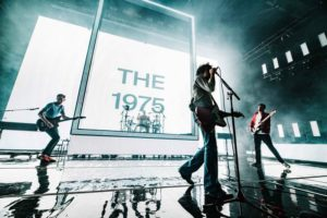 The 1975 Band live concert in Dubai