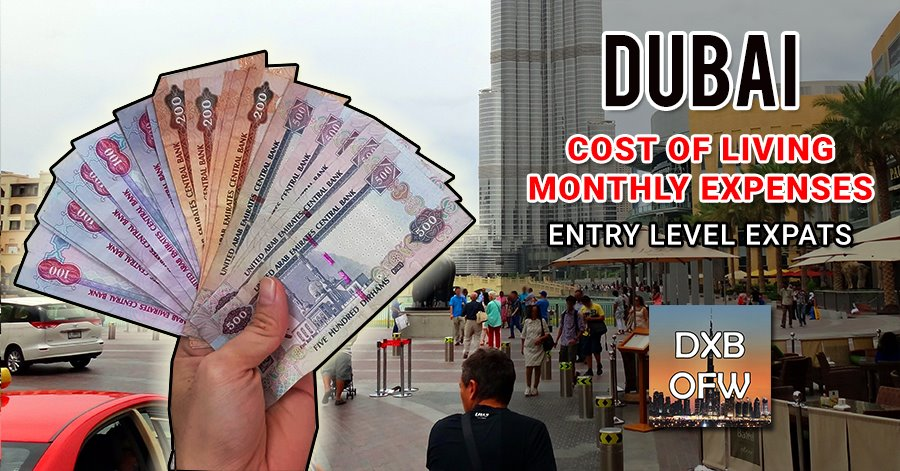 cost of living dubai uae