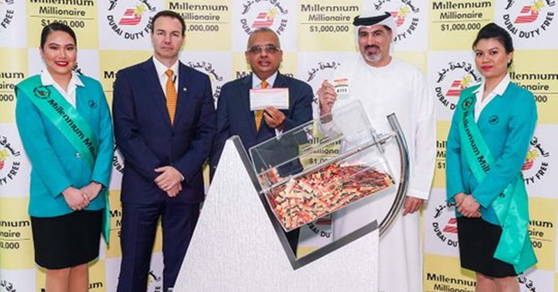 Indian Expat in Dubai Hits Raffle Jackpot worth USD 1M