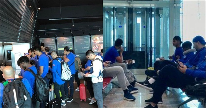 Team Gilas Makes a Pit Stop in Dubai before Flying out to Spain for Training