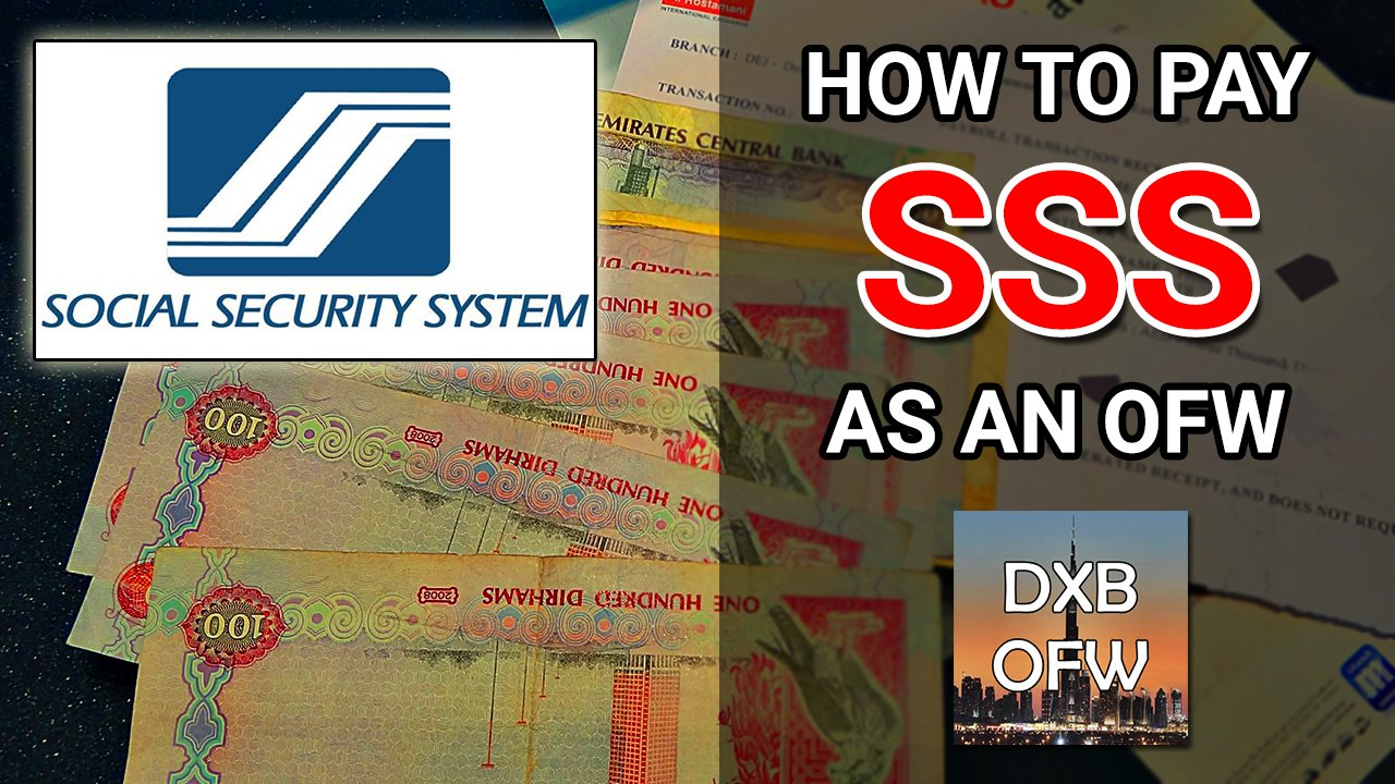 how to pay sss Dubai OFW