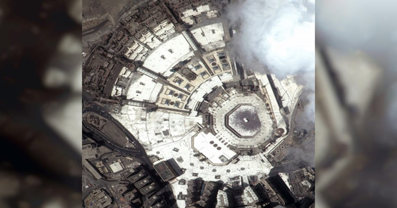 UAE Satellite Captures Images of Grand Mosque of Makkah during Eid Al Adha