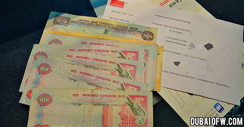 sending remittance back to home country from uae