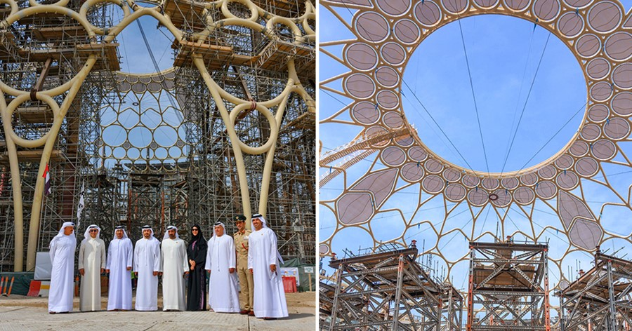 Al Wasl Dome in Expo 2020 Dubai