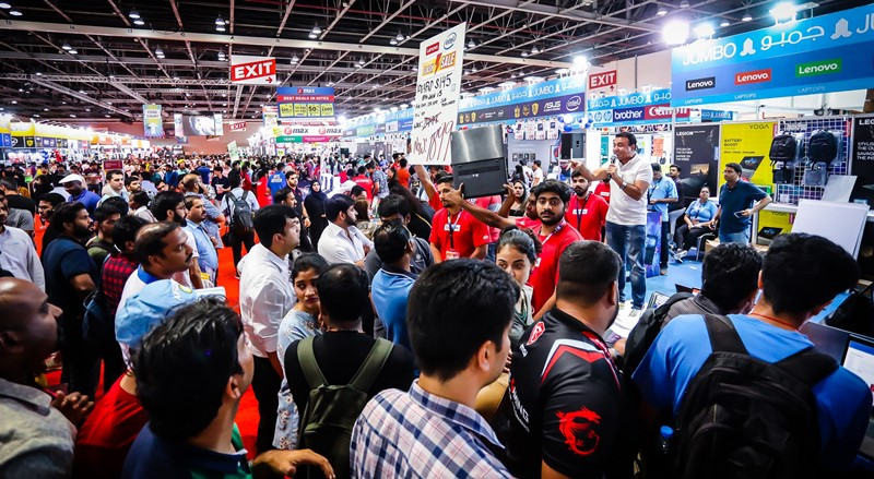 Consumers have been visiting GITEX Shopper in their droves for the chance to pick up the best deals and package promotions.
