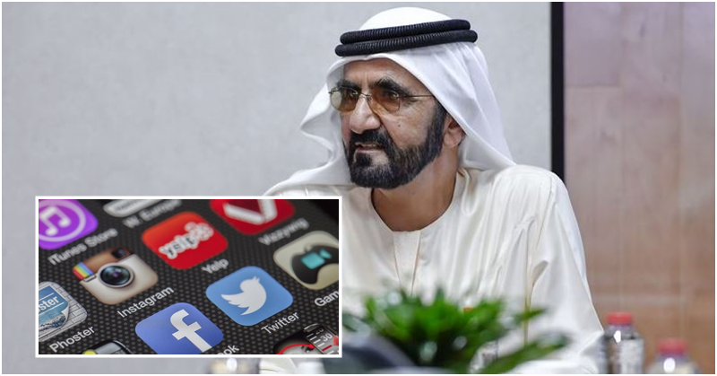Dubai Ruler Warns Against Tarnishing UAE Image on Social Media