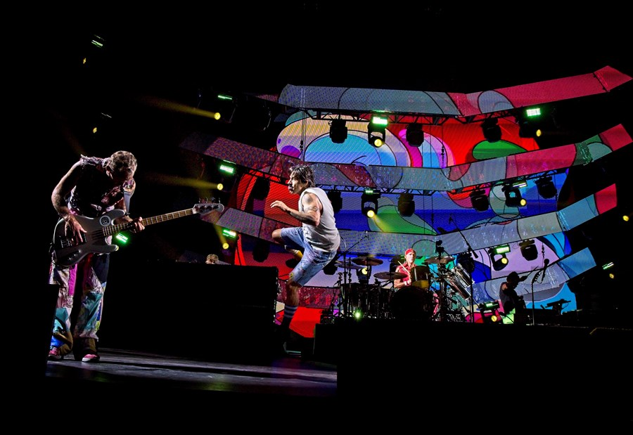 Red Hot Chili Peppers Rock Abu Dhabi