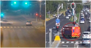 VIDEO Shocking Footage Shows Danger of Jumping Red Lights