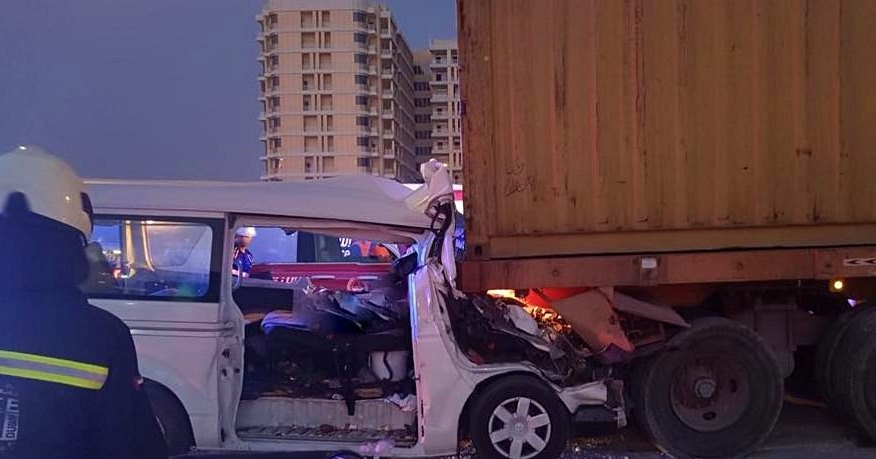 accident mohammed bin zayed road