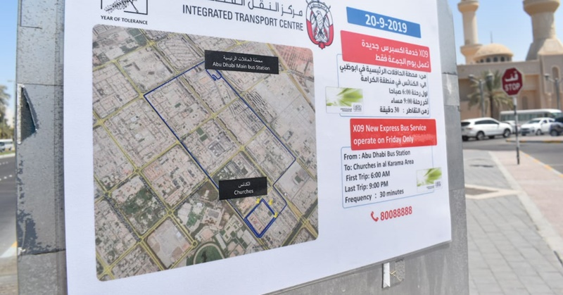 [LOOK] UAE Launches New Bus Services to Churches