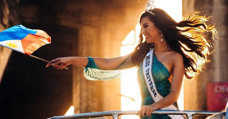Miss Universe Catriona Gray Flies to Dubai for a 3-Day Visit