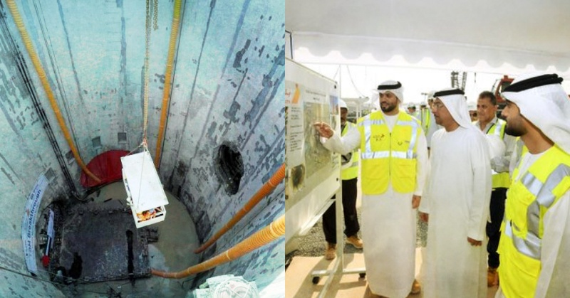 Dubai's Deep Tunnel Project to be Completed Ahead of Expo 2020