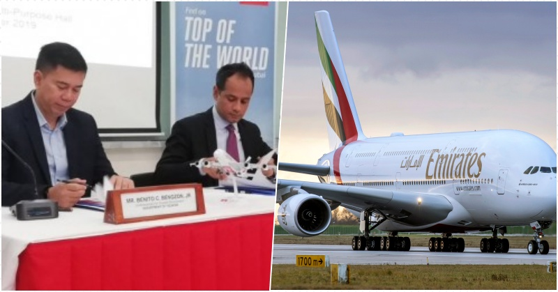 Tourism Dept, Emirates Tie up to Promote Philippines in Europe & Middle East