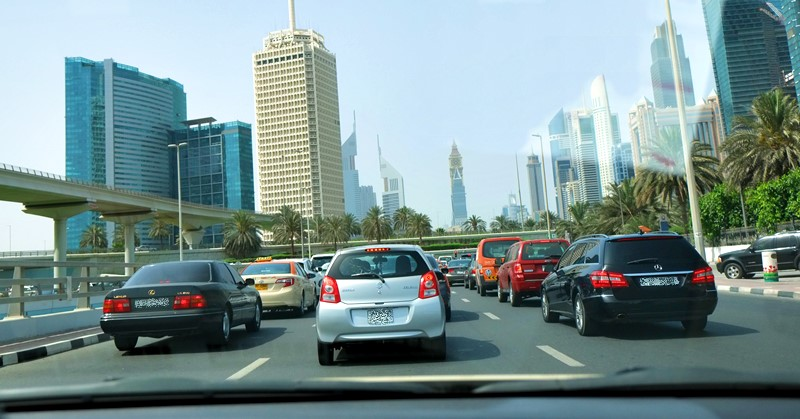 driving without license fine uae
