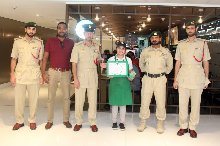 honest filipina starbucks employee dubai police
