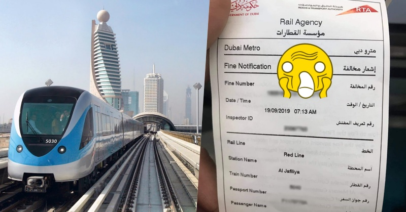 Dubai OFW Slapped with AED 300 Fine for Falling Asleep in the Metro