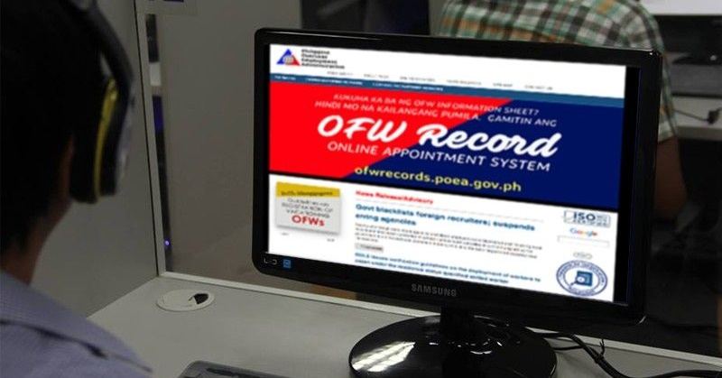 PH Gov't Introduces Online Monitoring System for OFWs