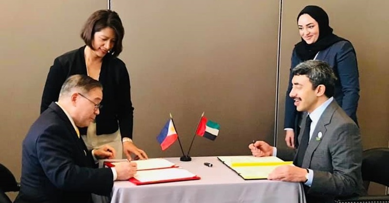 PH, UAE Sign MoU to Fight Against Human Trafficking