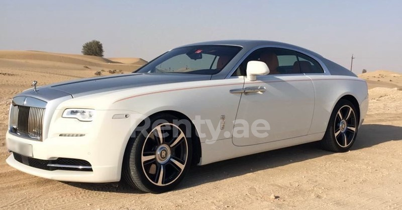 white_rolls-royce-wraith_2017 uae for rent