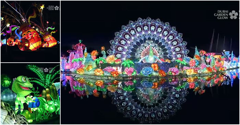 Dubai Garden Glow Opens Once Again with 'Back to Nature' Theme