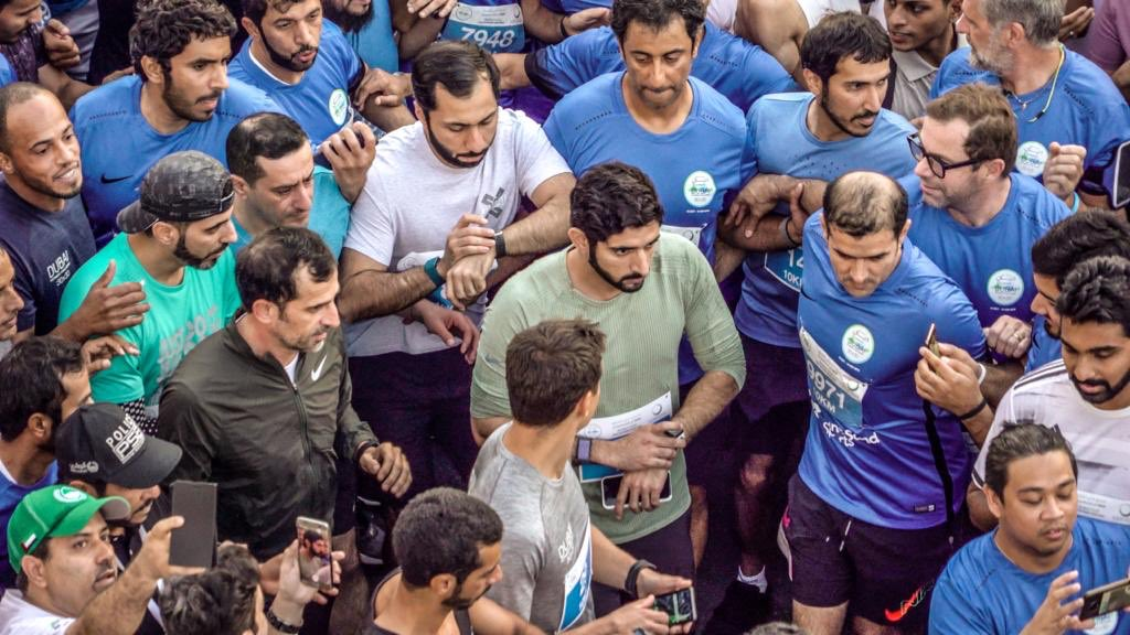 Sheikh Hamdan UAE Dubai Run