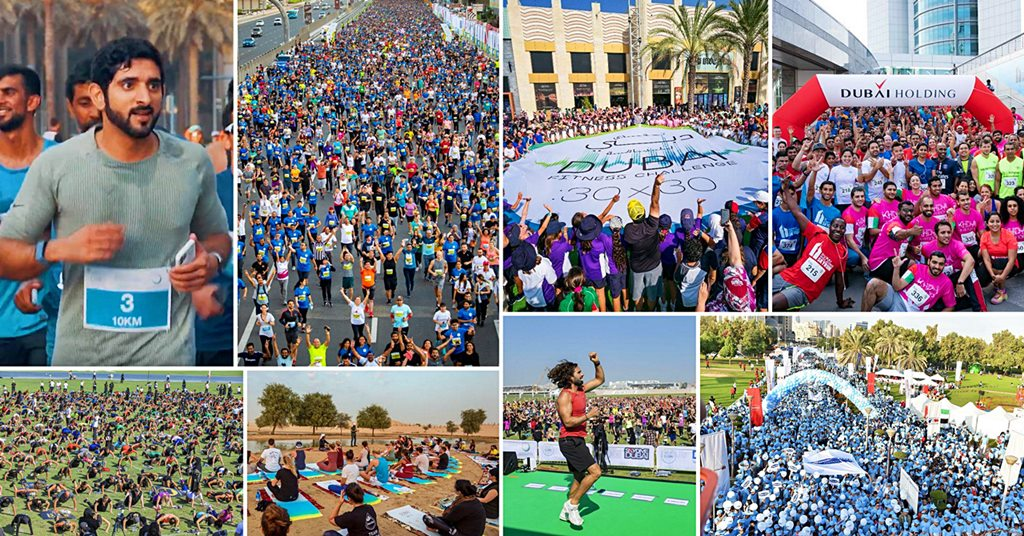 dubai fitness challenge photos