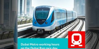 dubai run metro timings