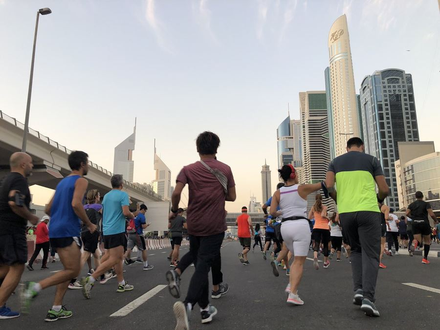 dubai run uae