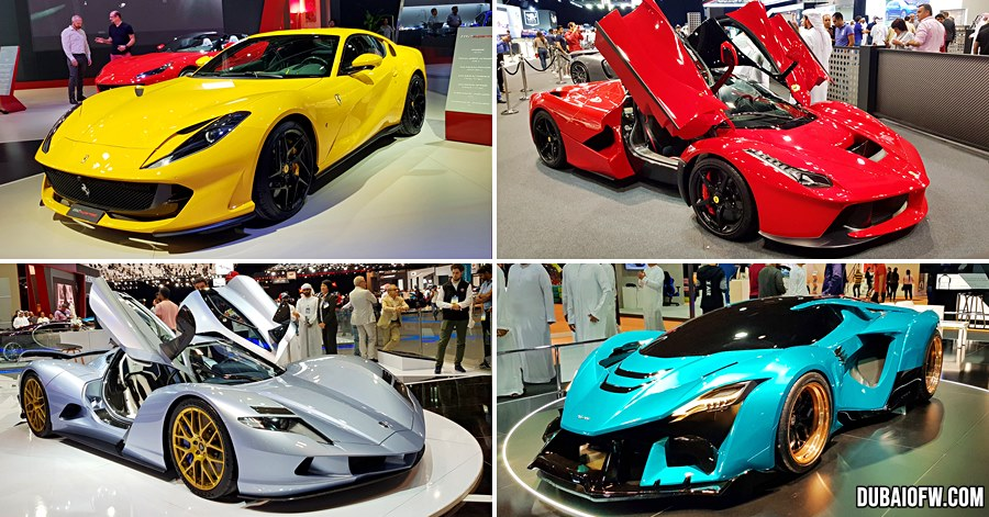 dubai supercars photos
