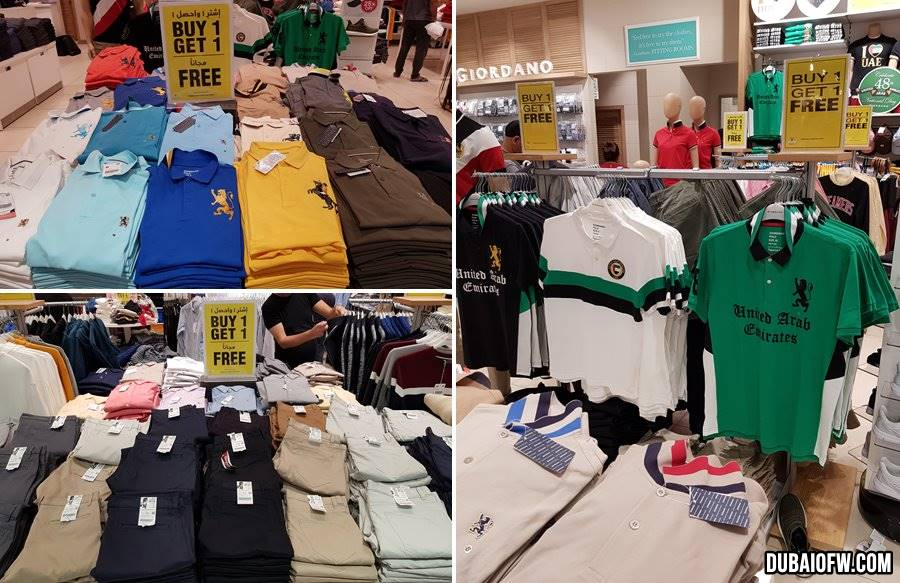 giordano sale buy one get one