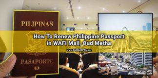 guide to renew ph passport in wafi mall