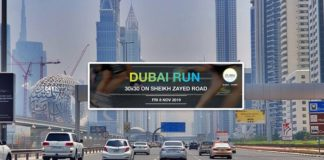 sheikh zayed road dubai run