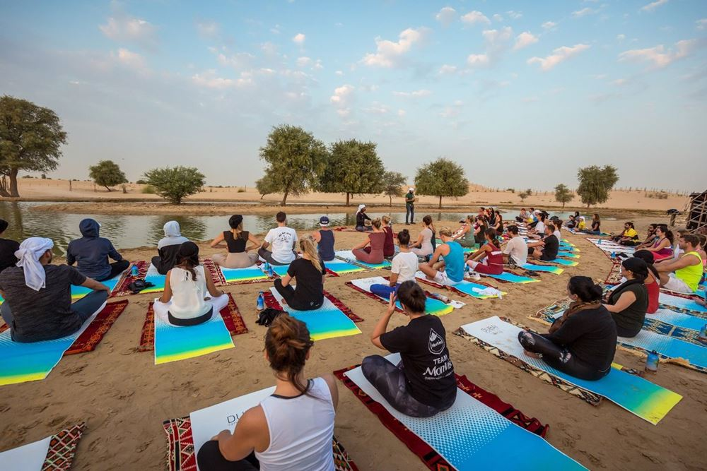 yoga in dubai fitness challenge