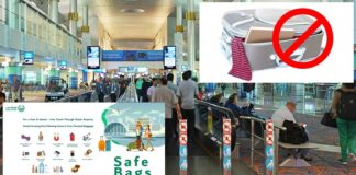 banned check in items in dubai airport