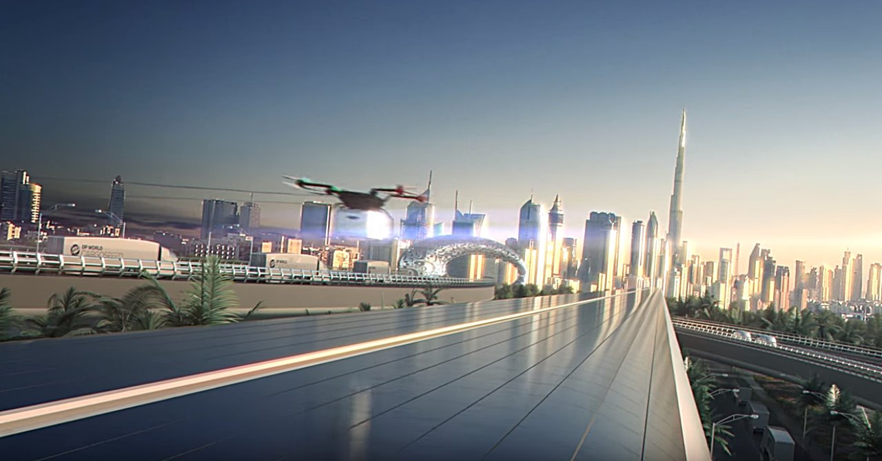 hyperloop transport dubai