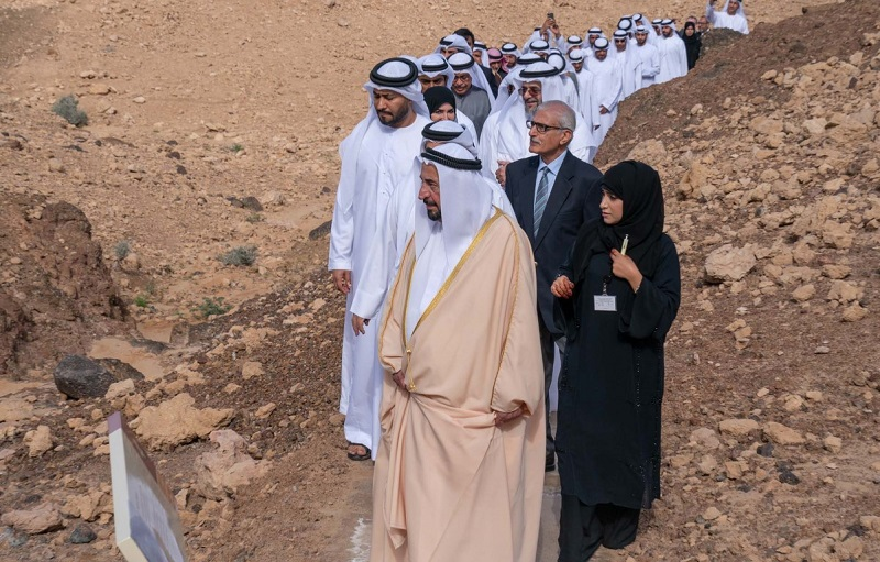Geology Park Featuring Fossils Opens in Sharjah