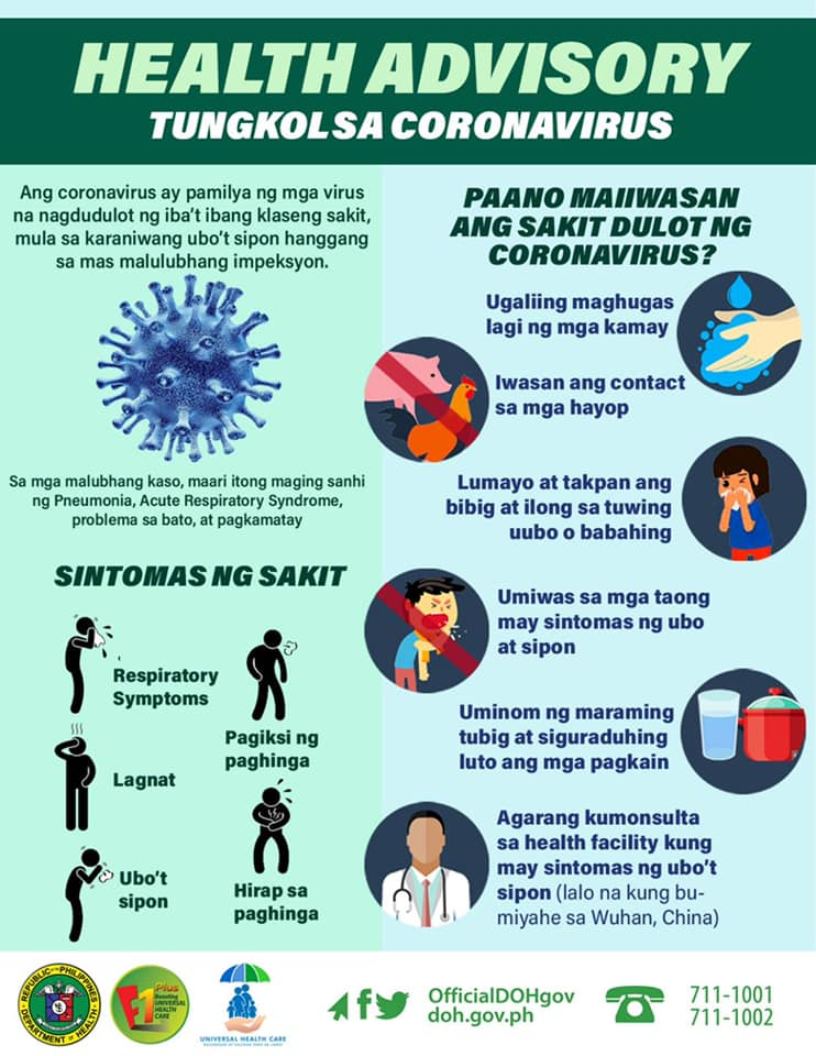 6 Tips to Help You Avoid Novel Coronavirus (nCov)