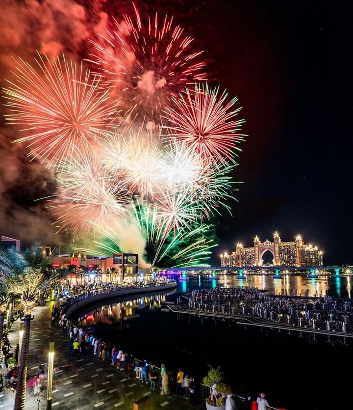 The Pointe Palm Jumeirah New Year