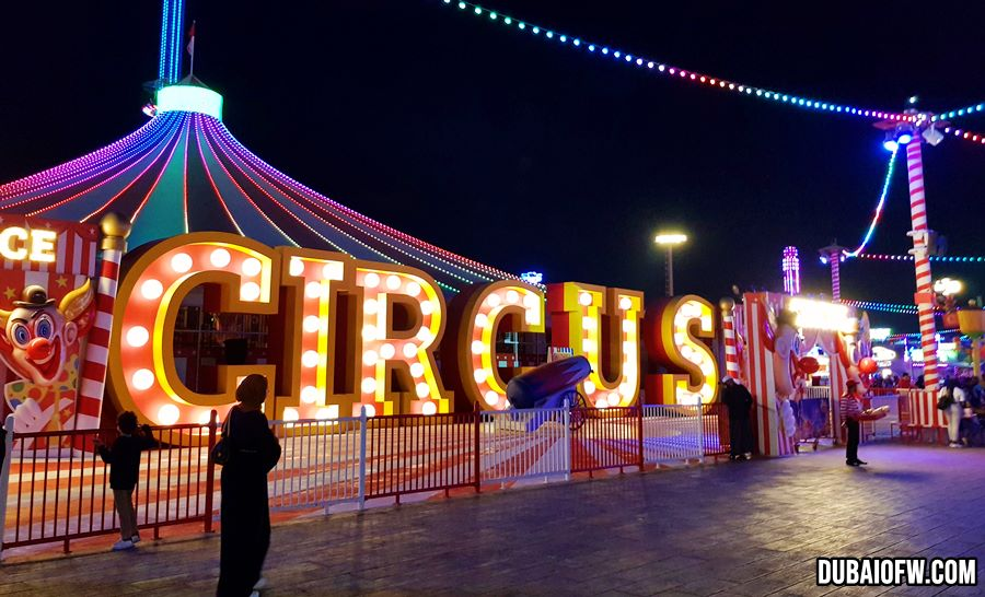 circus in global village
